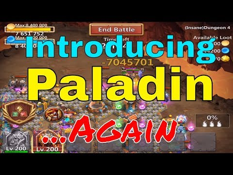 Castle Clash Paladin Introduced...Again