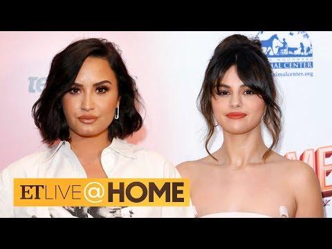 Demi Lovato Says She's No Longer Friends With Selena Gomez | ET Live @ Home