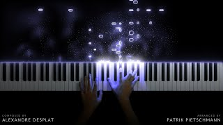Harry Potter 7.2 - Lily's Theme / Statues / Courtyard Apocalypse (Piano Medley)
