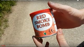 Red Smoke Bomb {Ark-O} Ultras-europe.com