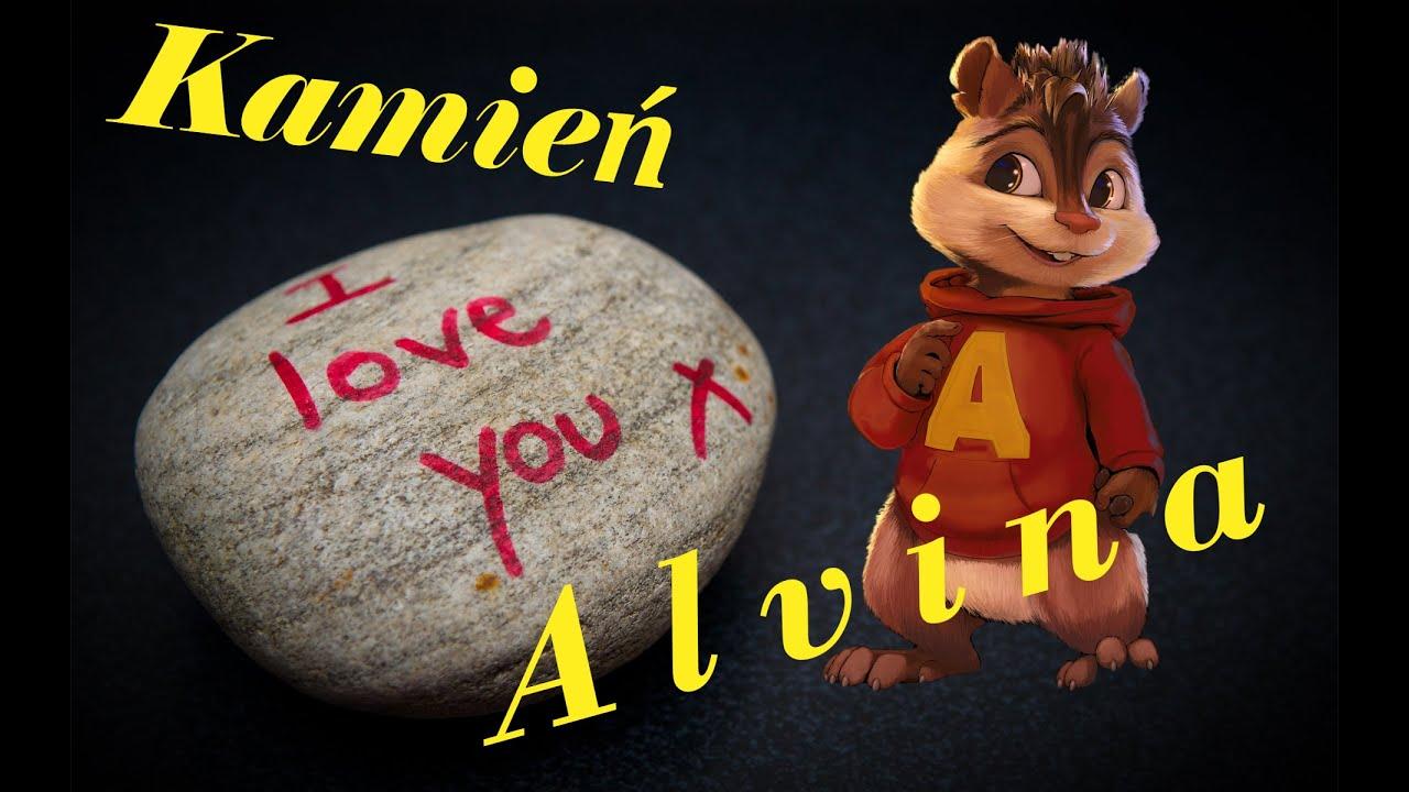 Enej Kamien Z Napisem Love Alvin I Wiewiorki Youtube