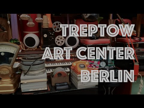 Treptow Art Center (TAC), Antiker Flohmarkt, Berlin