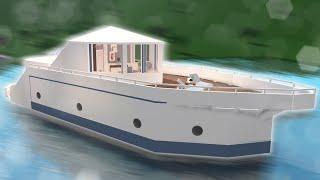 i built a yacht in bloxburg
