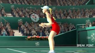 Roland Garros 2005 Smash Court Tennis PS2 PCSX2 Gameplay Namco 60fps HD