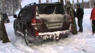 UAZ, Niva, Cadillac Escalade, Toyota Land Cruiser 200