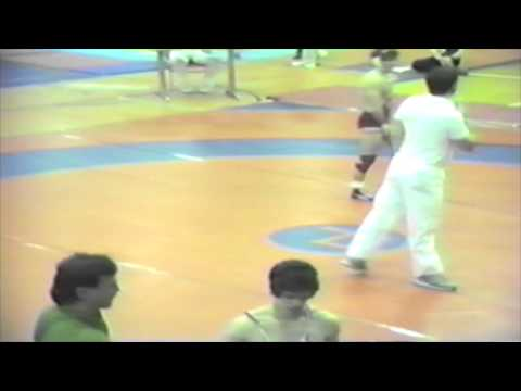 1987 National Espoir Championships: Neil Domstad vs. Unknown
