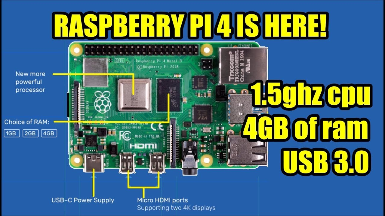 Raspberry Pi 4 is now AVAILABLE! Lets compare specs Pi 4 vs Pi 3, Odroid  N2, Xu4 & RockPro 64