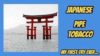 pipe smoking: Japanese tobacco