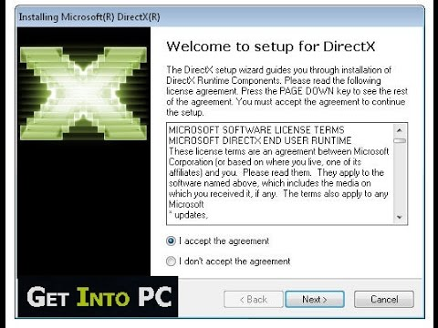 direct3d gratuit pour windows 7