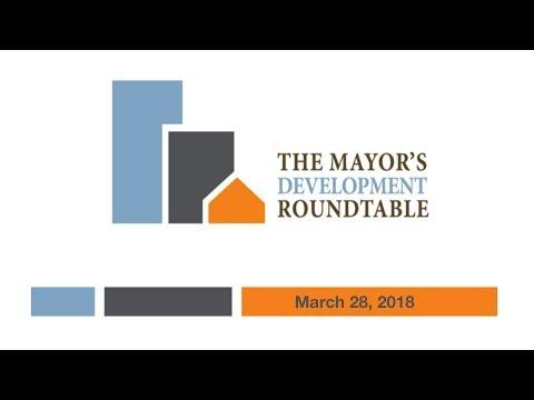 2018 Mayor's Development Roundtable