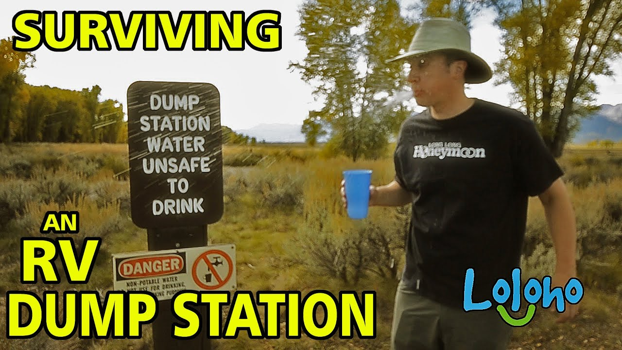 For Beginners - Top 10 Tips for Surviving the RV DUMP STATION