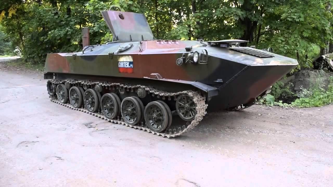 Газ–3409 «бобр» — гусеничный вездеход, представляющий собой универсальное транспортное средство для предприятий нефтегазового комплекса,