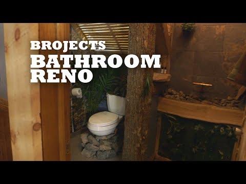 Brojects Bathroom Reno