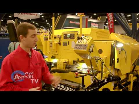 World of Asphalt 2018 Carlson Paving Products