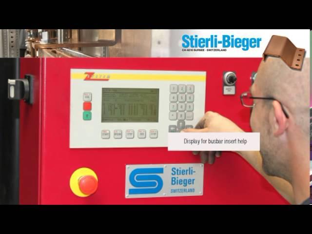 Stierli Copper bending machine CNC