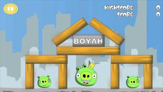 funny angry birds video