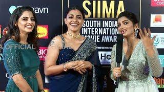 Fans Gone Crazy For Anusree And Nikhila Vimal At SIIMA 2019
