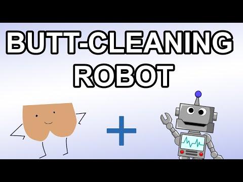 Butt Cleaning Robot - Short Version
