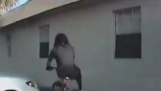 Dashcam video shows cop shooting unarmed man