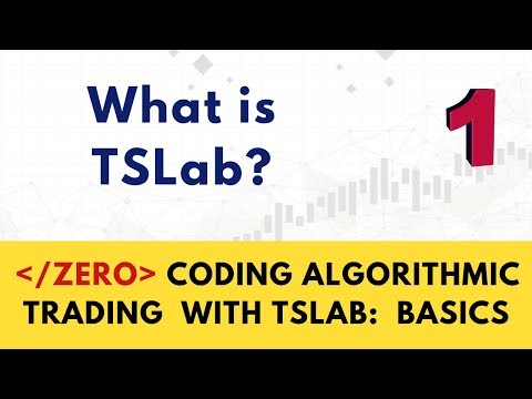 What is TSLab? Zero Coding Algorithmic Trading with TSLab