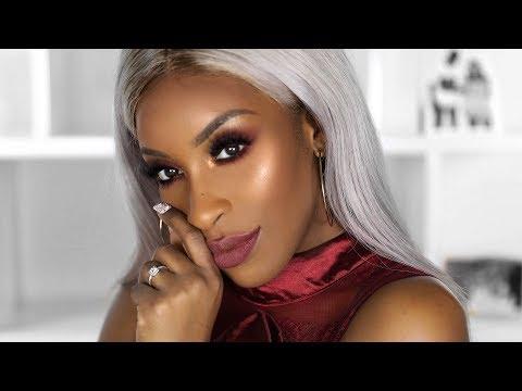 Sleek, Sexy Holiday Makeup | Jackie Aina