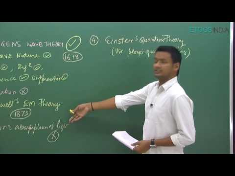 IIT JEE Main + Advanced I Physics I Wave Optics I NKC Sir From ETOOSINDIA.COM