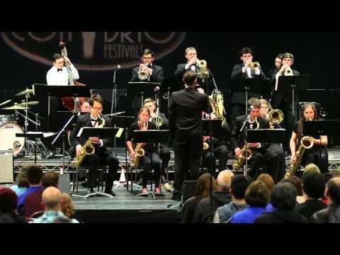 Stadium High School's Jazz Band 1, Con Brio Whistler Music Festival  2016