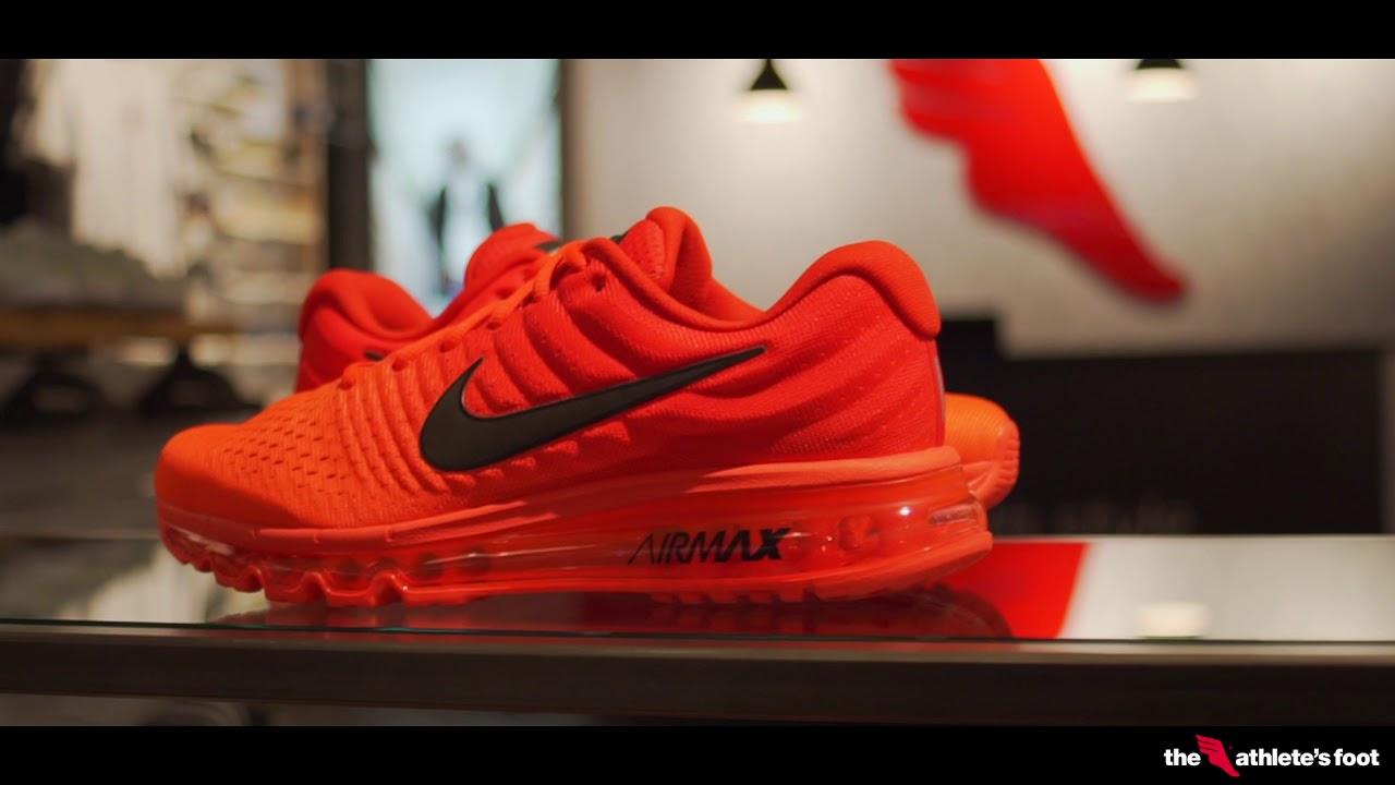 nike air max 2017 rood zwart