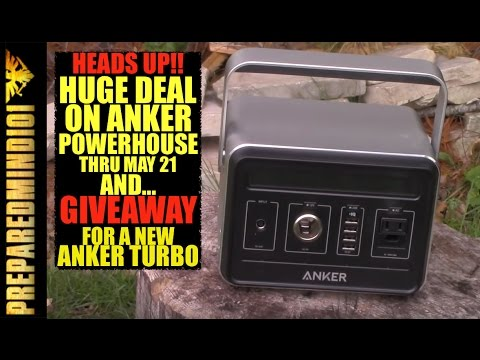 anker free giveaway huge deal on anker powerhouse giveaway for an anker 8359