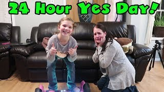 24 Hours In Charge! Carlie Gets A Yes Day! 24 Hour yes Day Challenge!