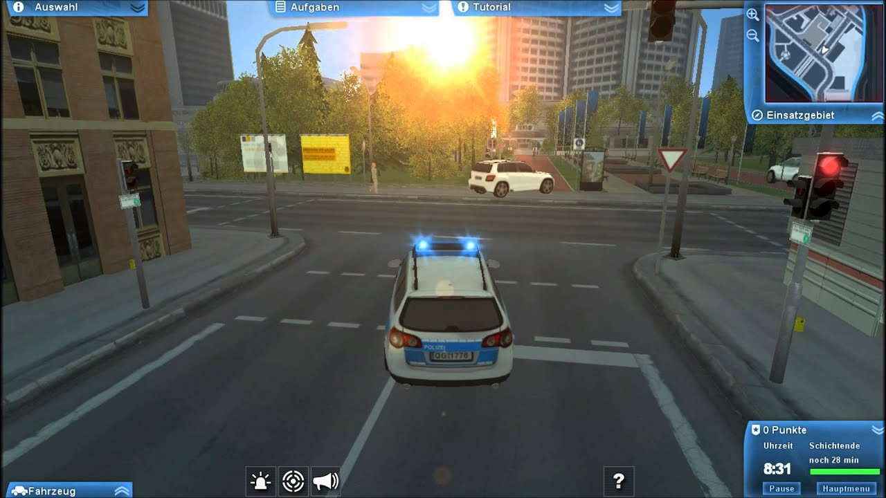 polizei 2013 die simulation gameplay merkw rdiges spiel youtube. Black Bedroom Furniture Sets. Home Design Ideas