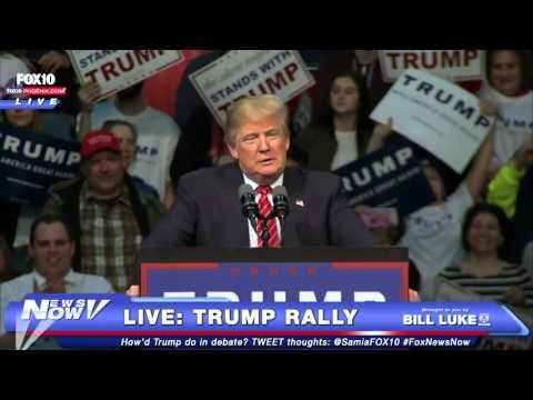 FULL Donald Trump Rally in Warren, Michigan - Morning After GOP Debate - FNN