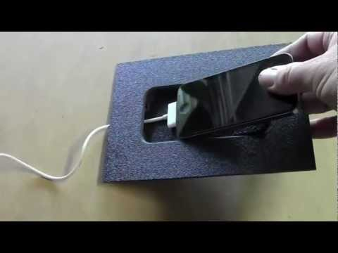 iPhone 4 pivoting custom mounting kit for car or home by Fifield Fabrications - YouTube