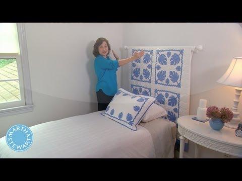 learn  do creating a quilt headboard  martha stewart, Headboard designs
