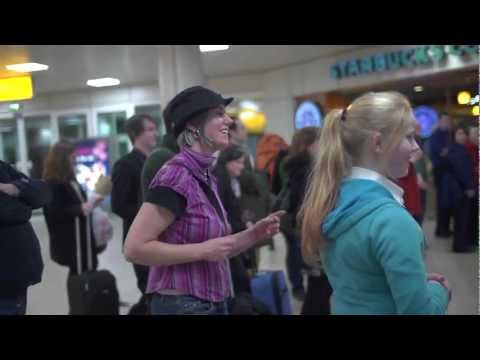 Glasgow Film Festival - Samba Ya Bamba at Glasgow Airport