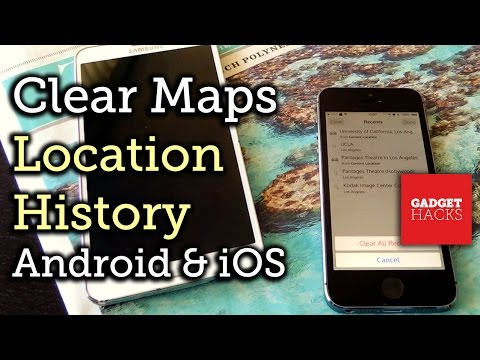 Remove Location History from Apple Maps, Google Maps, & Waze [How-To]