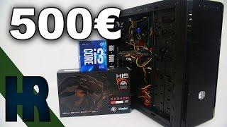 500€ Gaming PC 2016 Deutsch | Bau - Review & Test | Battlefield - GTA V - COD - Rainbow Six ( 500 €)