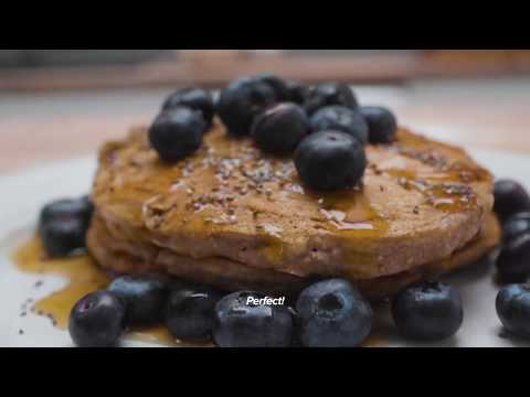 Eating Vegan: Banana Buckwheat Pancakes