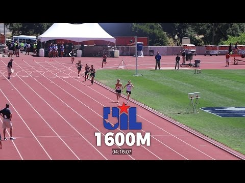 1600m Run - 2017 UIL Texas State Meet 3A Boys