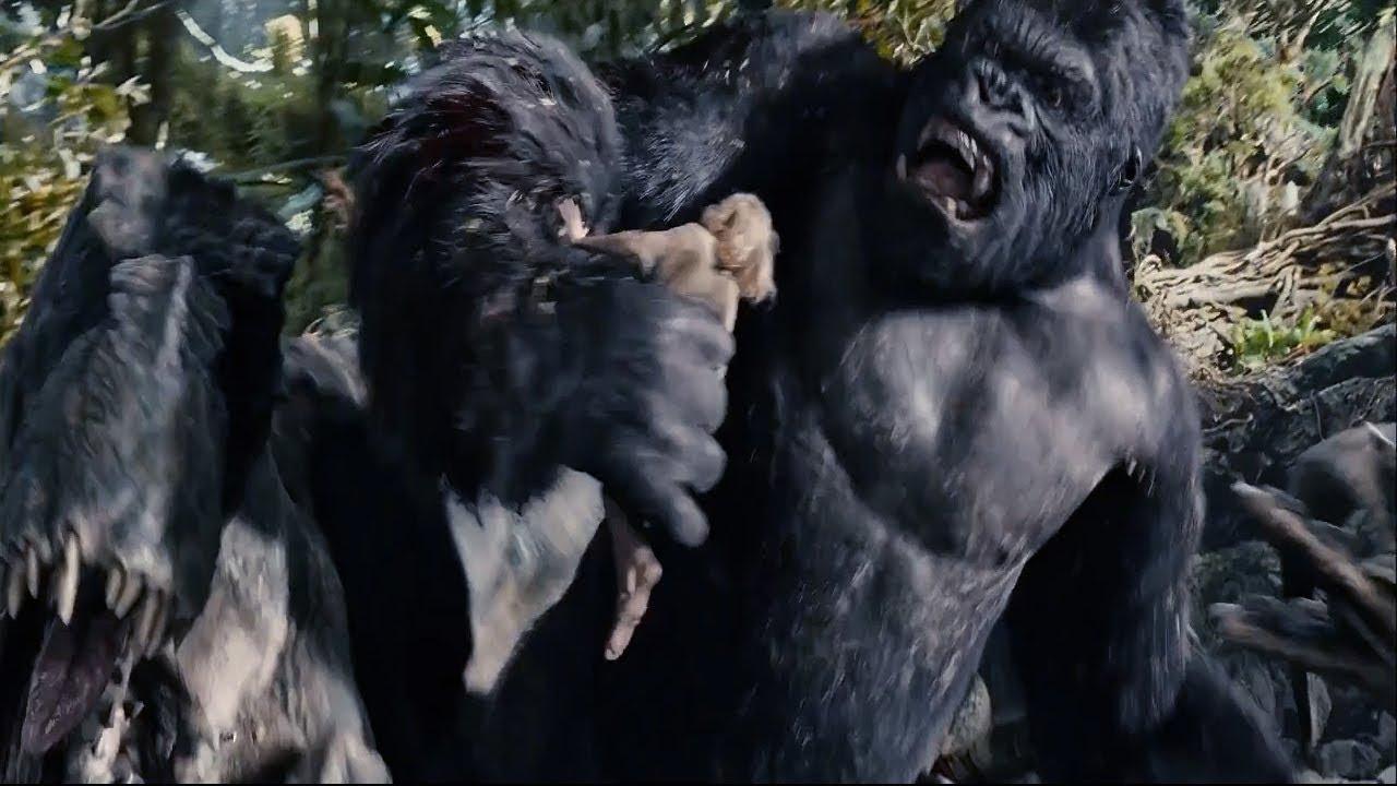 King Kong 2005 - The Adventure Ann Darrow Vs KingKong Best Screens 1080P