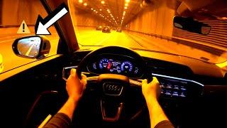 Audi Q3 II Test Drive| Pov City test drive Audi Q3 II.