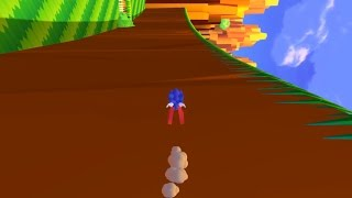 Sonic Utopia Open World Classic Sonic In Fan Game 3 Beginning To End Parkour