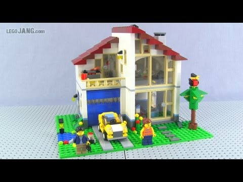 LEGO Creator Family House 31012 adv. build review! - YouTube