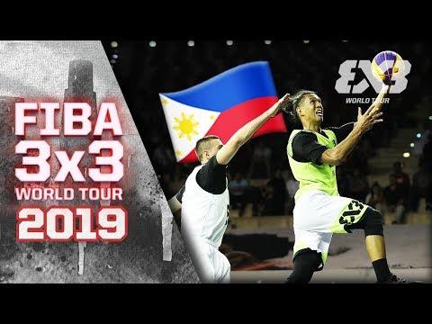 Balanga Chooks Pilipinas def.  Moscow in OT THRILLER (VIDEO) FIBA 3x3 World Tour Doha
