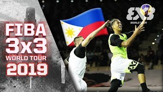Balanga beat Moscow by the skin of their teeth | Full Game | FIBA 3x3 World Tour 2019 - Doha Masters
