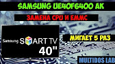 Samsung TV Fix - Replacing Capacitors and EEPROM Repair 4 of 4 .