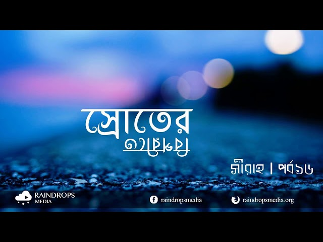 পর্ব ১৬ | সীরাহ | স্রোতের বিপরীতে তারা ক'জন | Rain Drops Media