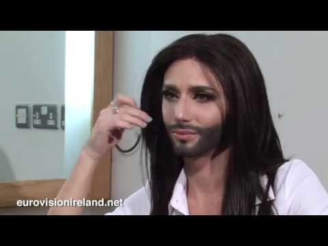 Eurovision Ireland Interviews Ms Conchita Wurst (Austria Eurovision 2014)