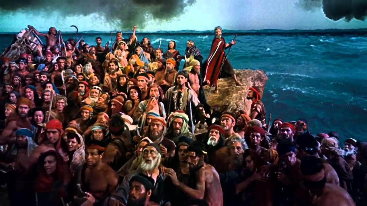 summary of the ten commandments movie