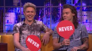 One Direction Play Never Have I Ever   The Jonathan Ross Show [Русские субтитры]